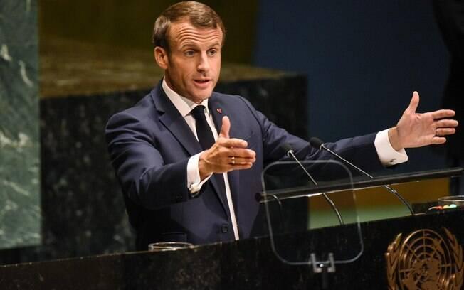 Presidente francês Emmanuel Macron também manteve acesa a discussão sobre a Amazônia