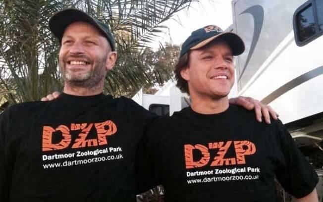 Após fazer o filme Compramos um Zoológico o ator Matt Damon se tornou embaixador do Dartmoor Zoo Park, na Inglaterra