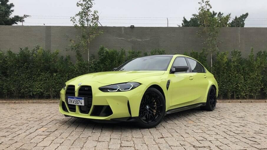 BMW M3 2021 fica ainda mais extravagante com a nova tonalidade verde da versão Competition Track