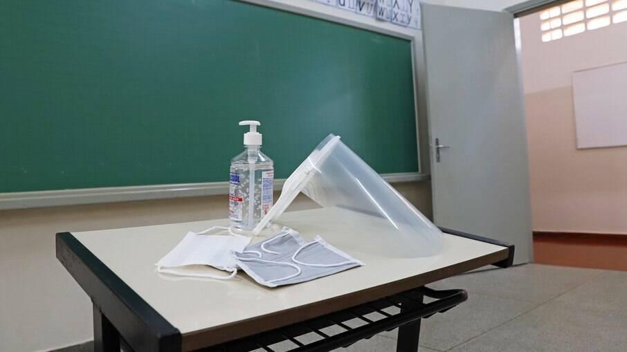Kits de proteção para professores