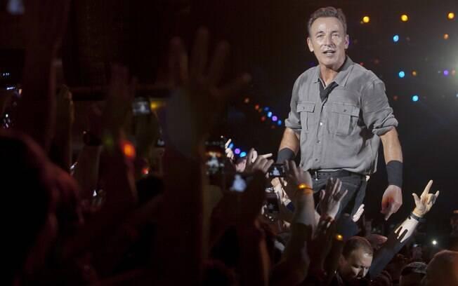 Bruce Springsteen faz show no Rock in Rio. Foto  Vivian Fernandez iG 0bbefd6c805