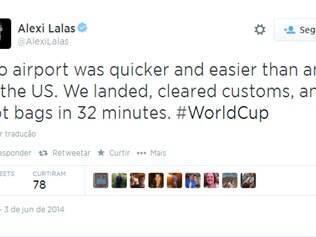 Comentário de Lalas é contrário ao da maioria dos brasileiros