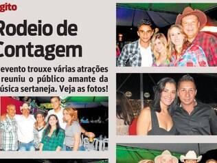 Rodeio de Contagem. O evento trouxe várias atrações e reuniu o público amante da música sertaneja. Veja as fotos!