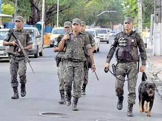 Greve da PM. Recife teve onda de violência e precisou do Exército para conter o crime semana passada