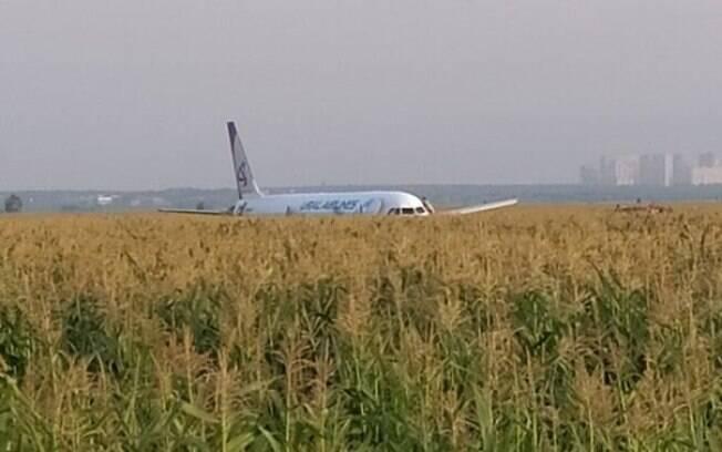 Imagens gravadas por passageiros mostram momento em que pássaros atingem a aeronave