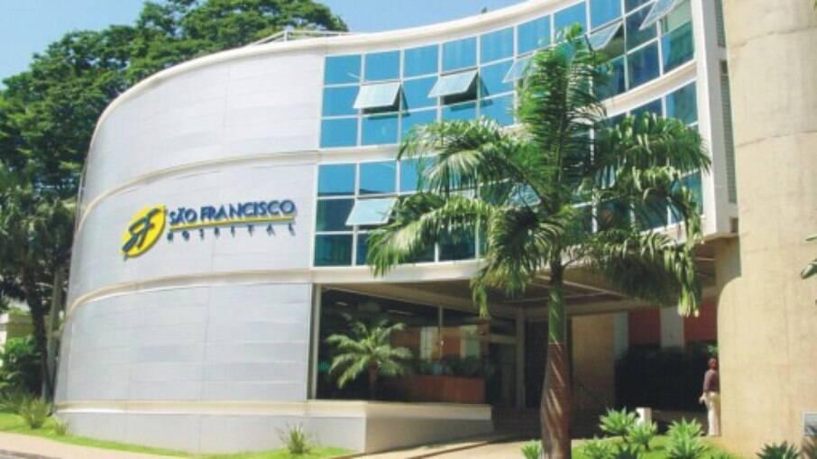 Sede do Hospital São Francisco, do Grupo Hapvida, em Ribeirão Preto