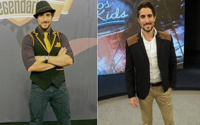 Marcos Mion antes e depois de emagrecer
