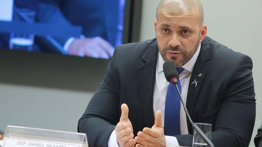 Deputado Daniel Silveira, preso na terça-feira por ordem de Alexandre de Moraes (STF)