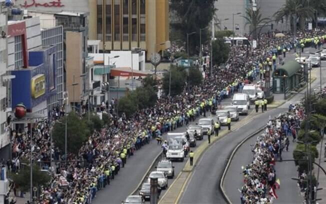 Desta vez, o papa passará também pela Bolívia e Paraguai. Foto: AP