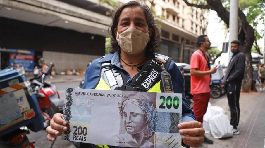 Nota de R$ 200 completa um ano