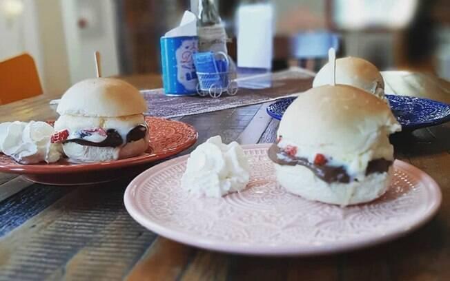 Malu Brigadeiro lança o hambúrguer de brigadeiro