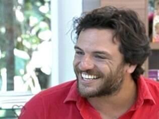 Rodrigo Lombardi, o convidado de Ana Maria Braga nesta sexta (28)