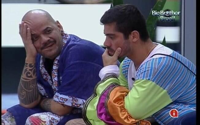 Yuri e João Carvalho discutem o que o Big Fone falou para Fael