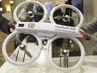 Drones têm um sistema de segurança que lê retina e impressões digitais