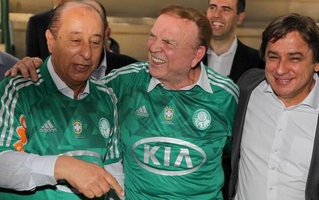 Marco Polo Del Nero é membro do conselho deliberativo do Palmeiras