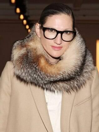 Jenna Lyons é presidente e diretora criativa da importante loja multimarcas americana J. Crew