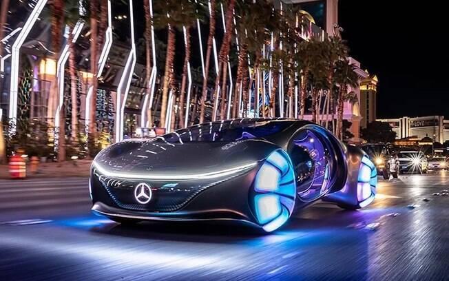 """Mercedes Vision AVTR: inspirado no filme Avatar e na ideia de """"fusão"""" do homem, máquina e natureza"""