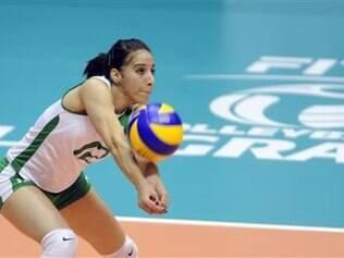 Safia Boukhima é uma das atletas do GSP que defende também a seleção argeliana