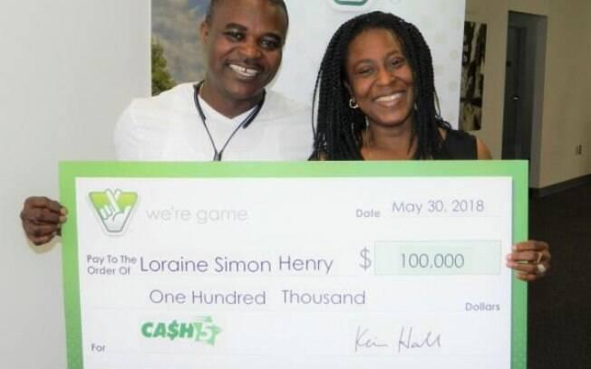 A mais nova ganhadora da loteria do estado da Virgínia, nos EUA, conseguiu seus números de maneira peculiar