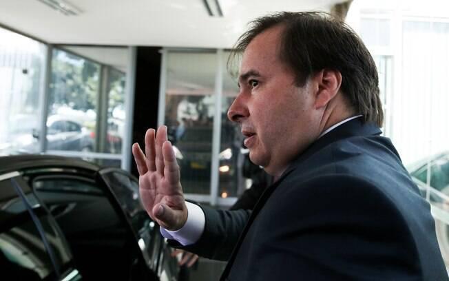 Presidente da Câmara, Rodrigo Maia (DEM-RJ) chamou a proposta de reforma trabalhista de Temer de