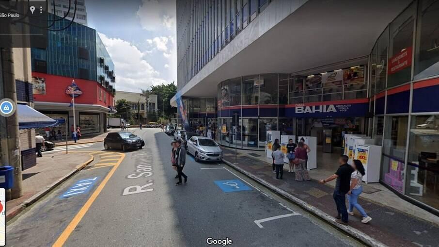 Rua Samuel Klein em São Caetano do Sul