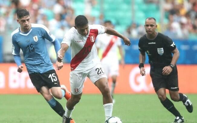 Peru e Uruguai se enfrentaram pelas quartas de final da Copa América