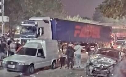 Acidente na Av. Brasil deixa 3 mortos e 2 gravemente feridos
