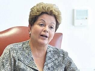 A presidente Dilma Rousseff falou ontem em programa de rádio