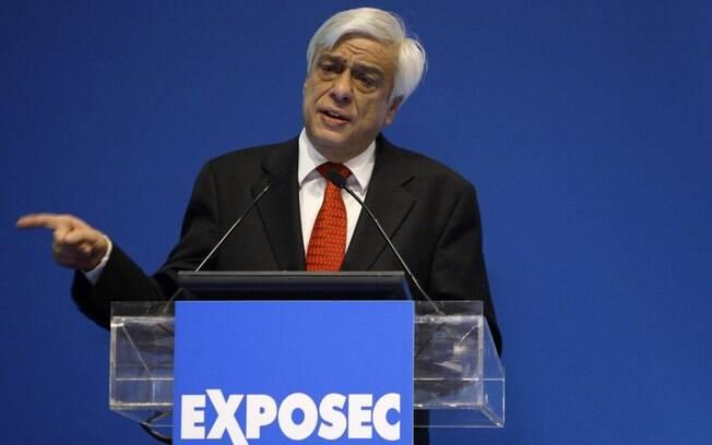 Prokopis Pavlopoulos, presidente eleito na Grécia