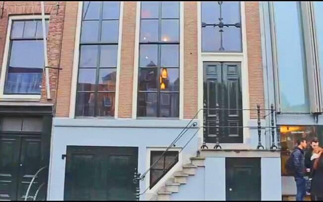 Casa de Anne Frank, em Amsterdam