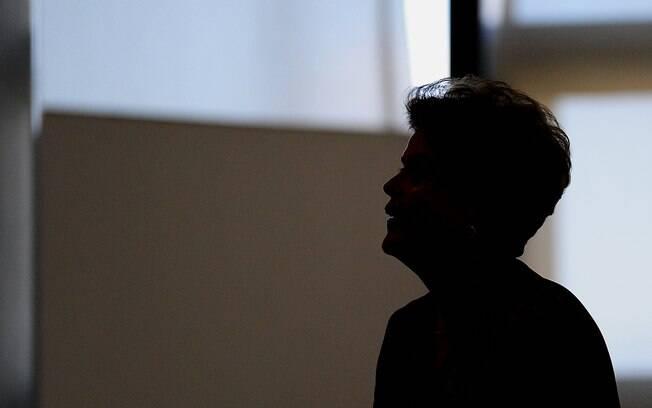 A presidente Dilma: após decisão do Senado, ela será afastada por 180 dias para julgamento