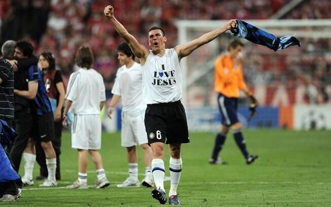 Lúcio foi titular absoluto da zaga da  Internazionale na conquista da Liga dos Campeões  de 2009-10