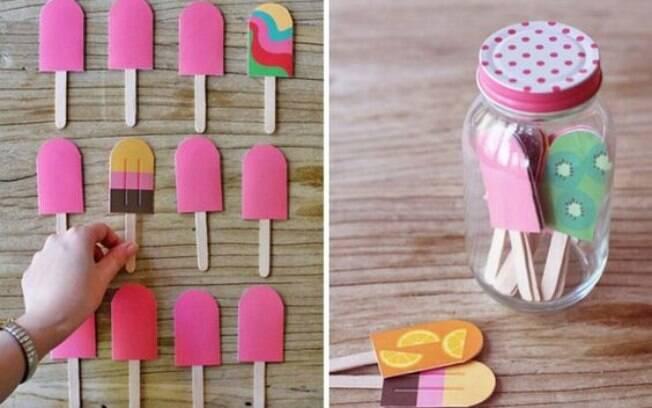 Utilize cartolinas coloridas para fazer o jogo da memória