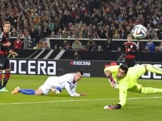 Götze anotou o único gol na partida contra o Chile e deu a vitória para os alemães