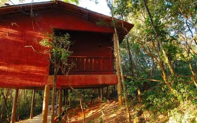 Exemplo de uma tiny house no interior de Minas Gerais, Brasil. Casa completa, simples e muito acolhedora.