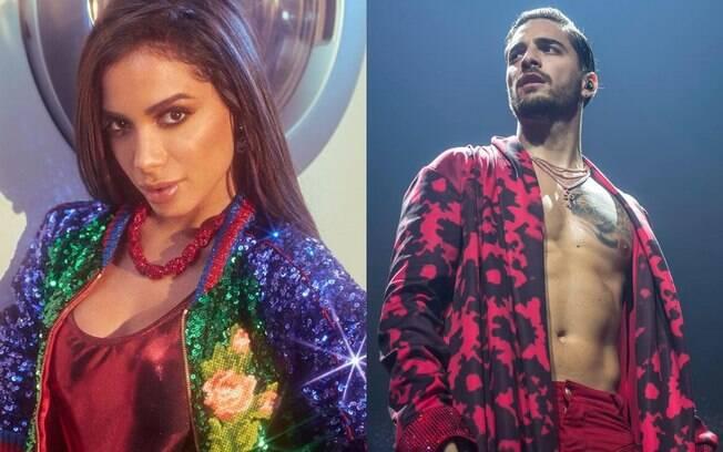 A treta entre Anitta e Maluma nunca foi esclarecida pelos artistas
