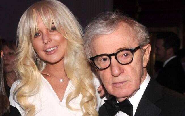 Lindsay Lohan e Woody Allen se encontram no baile da amfAR em fevereiro