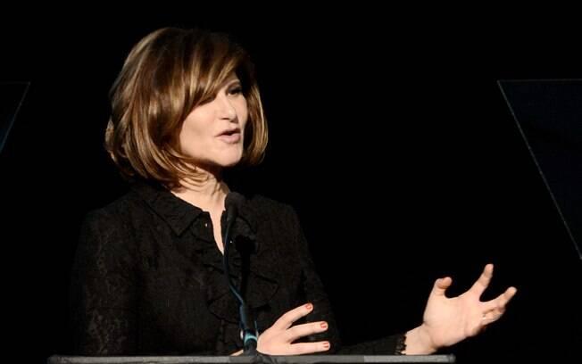 Amy Pascal, a única mulher atualmente na chefia de um dos seis principais estúdios de Hollywood