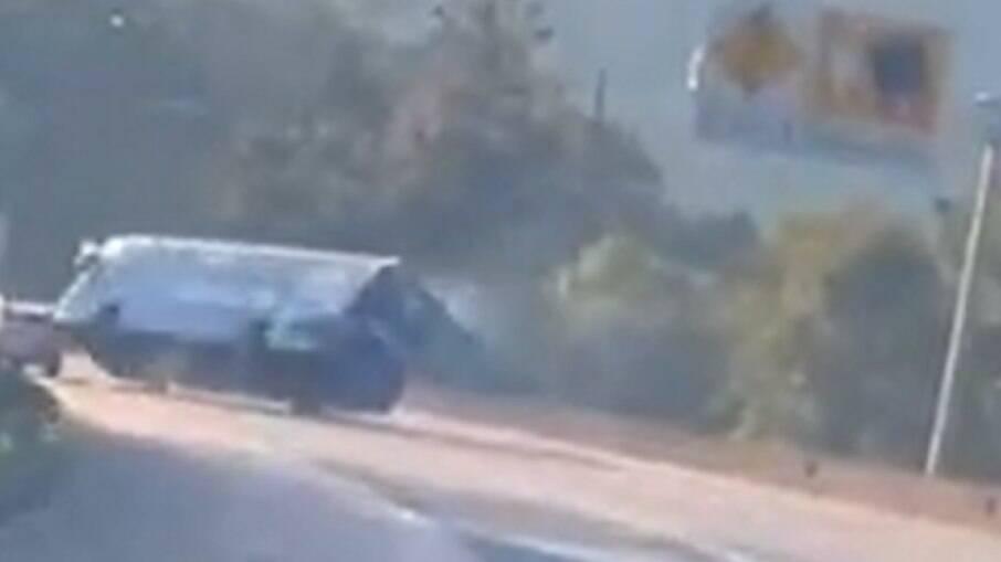 Ônibus que levava a delegação do Umuarama Futsal capotou e duas pessoas morreram