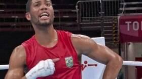Atleta xinga na TV e Galvão Bueno reage: