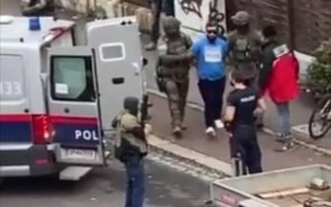 Terroristas presos pela polícia de austríaca