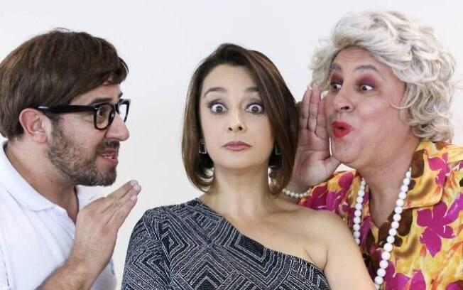 Catia Fonseca e personagens do