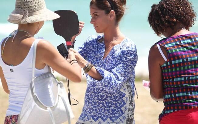 Giovanna Antonelli grava cenas de 'Em Família'