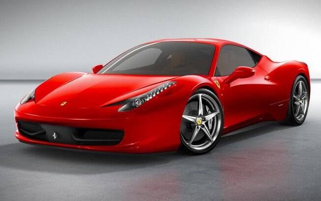 Para os que gostam de velocidade, uma Ferrari é uma boa opção para o ganhador da Mega-Sena