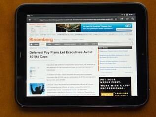Touchpad: primeiro e único aparelho da HP com WebOS