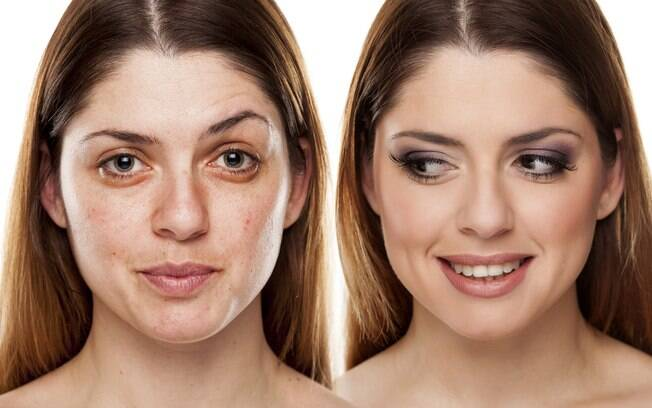 Mulher não precisa ficar sempre sem maquiagem, basta ela seguir o que prefere, o que gosta mais, o que vai deixá-la mais feliz