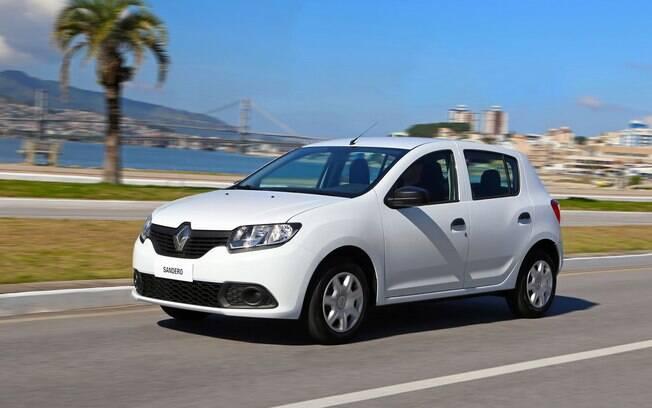 Com preços a partir de R$ 42.200, o Renault Sandero também passa a contar com o novo motor 1.0. Está disponível em três versões, que podem custar até R$ 47.100.