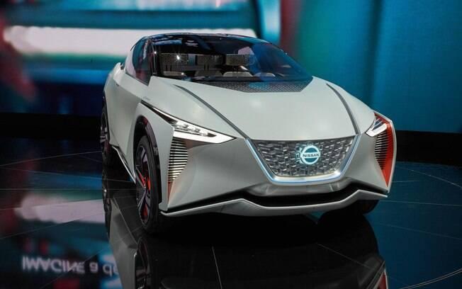 O conceito IMX da Nissan é um crossover esportivo elegante entre os carros elétricos