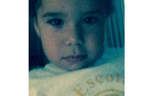 José Marcus está com dois anos e em breve ganhará um irmão, o João Francisco