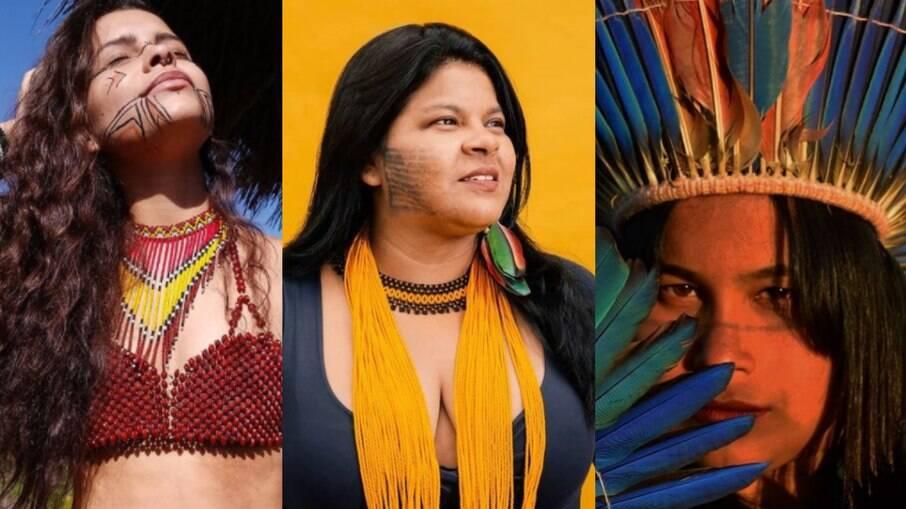 Alice Pataxó, Sônia e Kaê Guajajara